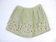 Chloe Silk Light Skirt With Applique Size 38 UK 10 BNWTS RRP £1400