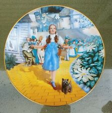 1992 Follow the Yellow Brick Road Wizard of Oz Collector Plate Knowles Laslo