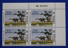 U.S. (La01A) 1989 Louisiana State Nonresident Duck Stamp (Mnh) Pb4
