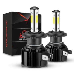 2x H7 LED Phare de Voiture Ampoule Headlight Kit 260W 32000LM 6000K Xénon Blanc