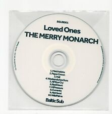 (IW640) The Merry Monarch, Loved Ones - DJ CD