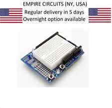Arduino UNO Prototyping Shield ProtoShield Module + Mini Breadboard prototype
