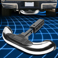 """1.25/2""""Stainless Steel Trailer Hitch Receiver Cover/Rear Bumper Step Bar Guard"""