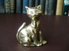 19th c Victorian Brass Cheshire Cat Poker Stand