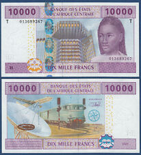 CENTRAL AFRICAN STATES / CONGO 10.000 Francs UNC P.110T