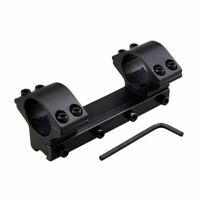 "25.4mm 1"" Dual Flat Top Ring Rifle Shotgun Scope for 11mm Dovetail Rail Mount"