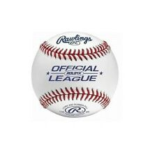 (1) DOZEN ~ (12) Rawlings Official League ROLB1X Leather Baseballs ~ Brand New!