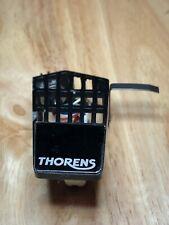New listing OEM Original Thorens TP60 headshell silver on black logo w/ Pickering Cartridge