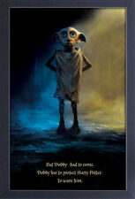 HARRY POTTER DOBBY PROTECT 13x19 FRAMED GELCOAT POSTER HOGWARTS MAGIC CHARACTER!