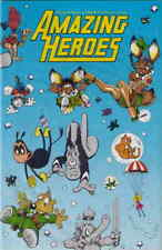 Amazing Heroes #42 VF/NM; Fantagraphics | save on shipping - details inside