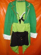 Halloween Leg Avenue Irish Costume - Lucky Ireland Maiden Leprechaun 2pc Medium