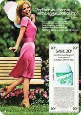 1980 Sexy BARBARA EDEN wears LEGGS PANTYHOSE * DECORATIVE REPLICA METAL SIGN *