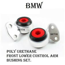 Front Suspension Lower Control Arm Poly Urethane Bushing SET For BMW 99-06 E46