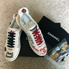 CHANEL PHARRELL Capsule Collection Collab Sneakers **SOLD OUT WORLDWIDE** EU 39