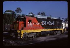 Original Slide NdeM Nacionales de Mexico B23-7 9178 In 1984 At SLP SLP