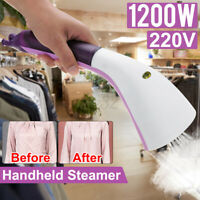 220V Clothes Garment Fabric  Home Travel Portable Mini Handhe