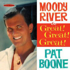 Pat Boone : Moody River/Great! Great! Great! CD (2012) ***NEW***
