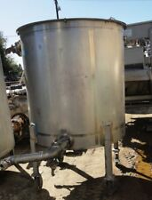 500 Gallon Stainless Steel Cone Bottom Tank