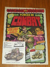 FORCES IN COMBAT #1 MARVEL BRITISH WEEKLY 15 MAY 1980 SGT FURY WITH FREE GIFT