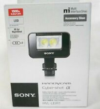 Sony HVL-LEIR1 LED Video Infrared IR Light Alpha Handycam From Japan with track