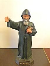 St Charbel Sculpture Saint Charbel Makhluf Holy Figurine Statue Unique 12""