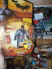 Power Punch Batman From Batman Begins Movie Series, Never Opened, From Mattel.