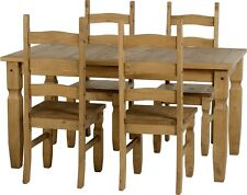 Mexican Pine CORONA 5ft Dining Table & 4 Chairs * Next Day Delivery