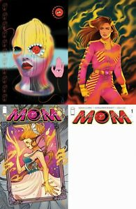 MOM MOTHER OF MADNESS #1 ALL 4 COVERS A,B,C AND BLANK IMAGE 2021 PRESALE 7/21/21