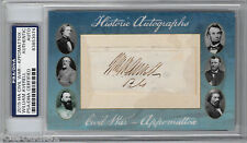 Historic Autographs Appomattox Civil War General William W. Averell Signed Auto