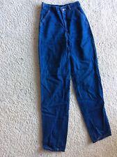Vtg 70's Women's Jeans Chemin De Fer Disco High Waist Denim Jeans 26