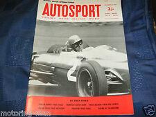 Escotilla Internacional Peter Arundell marcas Fórmula Junior Lotus Tim Meyer Hulme