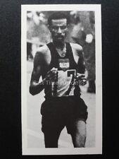No.9 ABEBE BIKILA -  OLYMPIC GREATS Brooke Bond & Co (tea) 1979