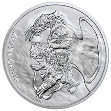 2018 South Korea ZI:SIN Canis 1 oz. Silver 1 Clay Medal GEM BU SKU55050
