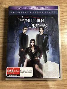 Vampire Diaries : Season 4 (DVD, 2013, 5-Disc Set)