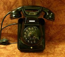 W49 altes Telefon Bakelit Wandtelefon  TI-WA Telephone Top!