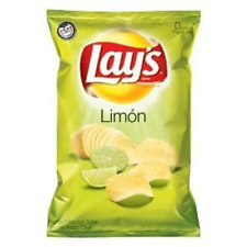 Lay's Limon Flavored Potato Chips 8oz Bags (Pack of 3)
