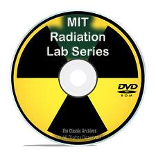 MIT Radiation Laboratory Series, Radiation Research Theory 1947-1951 PDF DVD G81