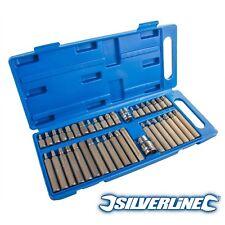 Silverline 881641 Hex Torx y chaveta set de brocas 40pce
