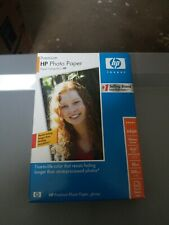New 100-Pack Genuine HP Q1990A Premium Photo Paper  Glossy  4 x 6 w/tab  Sealed
