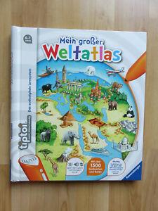 tiptoi® Buch - Mein großer Weltatlas -  Ravensburger - 4-7 Jahre - neuwertig