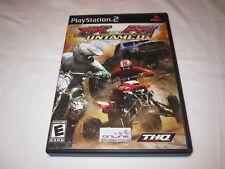 MX vs. ATV Untamed (Playstation PS2) Black Label Original Complete LN Mint!