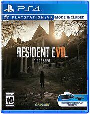 NEW Resident Evil 7 Biohazard (Sony PlayStation 4, 2017)