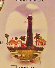 Bolvar Texas 3 Dimensional Light House Decorative Plaque