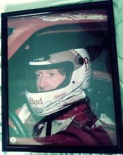 COLLECTIBLE BILL ELLIOTT FAN CLUB 21x17 AUTOGRAPHED  LIMITED PROOF OF 5000