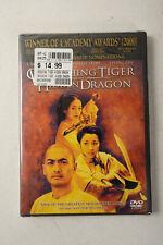 Crouching Tiger Hidden Dragon Dvd Movie (G3L) Brand New Widescreen Sealed