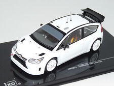 Citroen C4 WRC Plain Body white 1:43 Ixo MDCS011