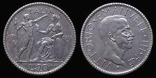 pci1159) REGNO VITTORIO EMANUELE III° 20 LIRE LITTORE 1928 AG