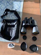 Vivitar Binoculars 7 X 50 297 Ft at 1000 Yds, Coated Optics, Strap, Case