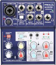 Consola mesa de mezclas 4 canales Mx35usb BST
