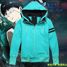 Anime Tokyo Ghoul Kaneki Ken Jacket Cosplay Hoodie shirt Coat Costume